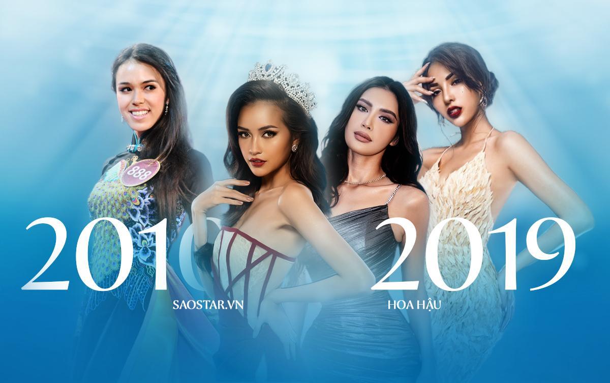 7 đại diện Việt Nam tại Miss Supranational thập kỷ qua: 1 Á hậu 3 và 3 Hoa hậu Siêu quốc gia châu Á
