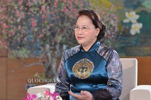 Chủ tịch Quốc hội Nguyễn Thị kim ngân: năm 2020, tiếp tục đổi mới, nâng cao hiệu quả của quy trình xây dựng pháp luật