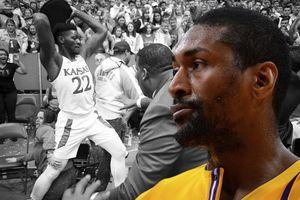 Bị nhắc quá nhiều sau trận đánh nhau của giải bóng rổ đại học, Ron Artest lần đầu lên tiếng