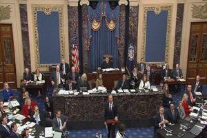 Đảng Dân chủ 'nổ súng' tranh luận tại phiên luận tội ông Trump