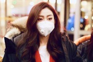 Nghệ sĩ Trung Quốc đeo khẩu trang đi ghi hình vì sợ virus viêm phổi