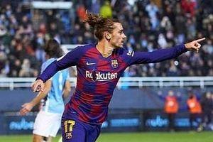 Griezmann giải cứu Barca trước đội bóng tý hon