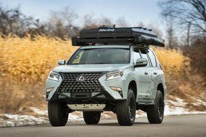 Concept SUV off-road của Lexus - xe hạng sang hầm hố