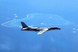 Máy bay ném bom Trung Quốc tập trận gần đảo Đài Loan