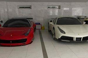 Đại gia Bình Phước độ siêu xe Ferrari 458 Italia chơi Tết
