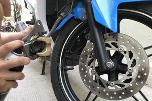 Phanh đĩa xe máy và những rắc rối liên quan