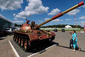 Xe tăng T-62 Việt Nam vẫn được cung cấp thêm nòng pháo mới