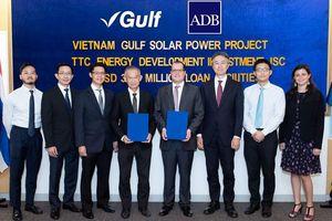 ADB hỗ trợ doanh nghiệp gần 40 triệu USD vốn vay xây nhà máy điện mặt trời tại Tây Ninh