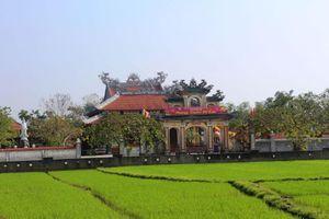 Về thăm ngôi chùa quê hương của thi sĩ Huyền Không