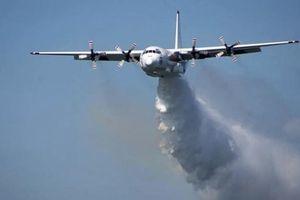 Máy bay cứu hỏa Canada rơi khi đang chữa cháy rừng tại Australia