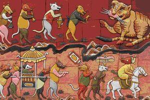 Chuột trong tranh Tết Đông Hồ