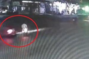 Sang đường không quan sát, xe máy gây tai nạn cho xe khác