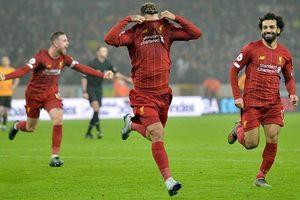 Liverpool thắng Wolverhampton 2-1