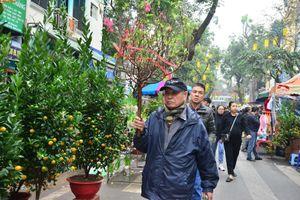 Chợ hoa Tết tập nập 'kẻ bán, người mua' đến ngày cuối cùng năm Âm lịch