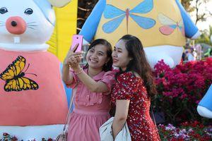 Phố phường Ninh Thuận nhẹ nhàng vào xuân