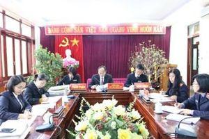 VKSND tỉnh Điện Biên tham gia xét giảm thời hạn chấp hành án phạt tù cho 468 phạm nhân