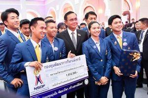 Choáng với tiền thưởng VĐV Thái Lan nhận sau SEA Games