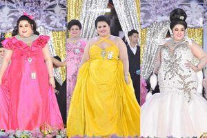 Choáng vì body nặng hơn cả tạ nhưng gương mặt cực xinh của thí sinh tham dự 'Hoa hậu Voi'