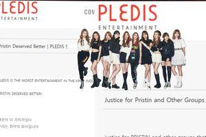 Website Pledis bất ngờ bị hack, hiển thị hàng loạt bình luận đòi công bằng cho PRISTIN