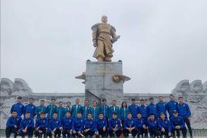 HLV CLB Bóng đá Than Quảng Ninh Phan Thanh Hùng: 'Có bắt đầu rồi sẽ có điểm đến'