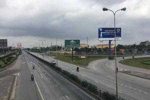 Hình ảnh 'lạ' trên Quốc lộ 5 chiều 30 Tết