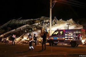 Động đất mạnh 6,8 độ tại Thổ Nhĩ Kỳ