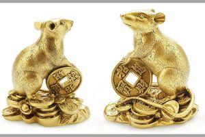 Vì sao tượng chuột phong thủy vẫy gọi Thần Tài, thổi bừng vượng khí?