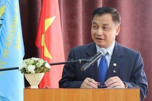 Hội thảo 'Chủ tịch Hồ Chí Minh và 30 năm ngôi trường mang tên Người tại Kyiv - Ukraine'