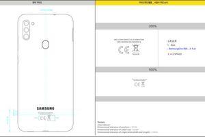Samsung Galaxy A11 rò rỉ cụm ba camera, pin 4.000 mAh