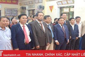 Bí thư Tỉnh ủy Lê Đình Sơn dự lễ chào cờ đầu năm mới