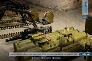 HTS 'triển lãm' vũ khí thu được khi Idlib nóng bỏng
