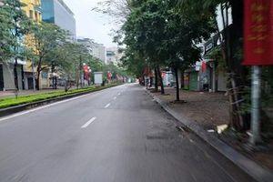 Hà Nội, đường phố yên bình sáng mồng 1 Tết