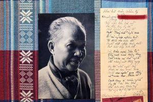 Công bố bút tích quý của Vũ Đình Liên và bài thơ khai xuân 'Ông đồ 2'