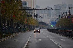 Vũ Hán như 'thành phố ma' trong những ngày phong thành vì virus corona