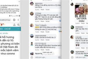 Nam thanh niên tung tin Việt Nam có 25 người nhiễm virus Corona
