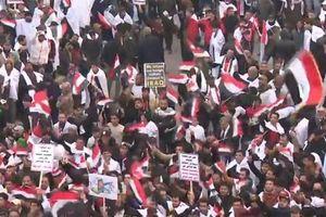 Hàng trăm ngàn người ở Iraq xuống đường biểu tình phản đối sự hiện diện của quân đội Mỹ