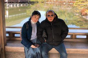 HLV Park Hang Seo hạnh phúc du xuân Nhật Bản cùng gia đình