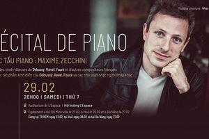 Đầu xuân, thưởng thức độc tấu dương cầm của nghệ sĩ Maxime Zecchini