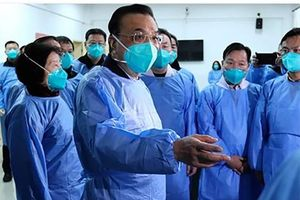 Thủ tướng Trung Quốc Lý Khắc Cường có mặt ở tâm dịch Vũ Hán