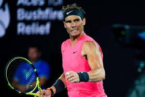 Nadal vào tứ kết Australian Open sau khi thắng Kyrgios