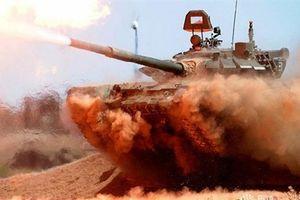 SAA dùng T-72B3 càn quét phiến quân tại Idlib