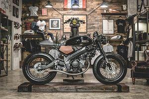 Ngắm 'xế nổ' Yamaha XSR 155 độ Cafe Racer hầm hố