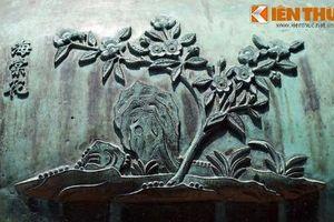 Khám phá hình tượng các loài hoa trên Cửu đỉnh nhà Nguyễn