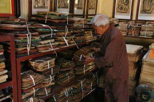 Khám phá kho tàng khuôn tranh cổ của nghệ nhân làng Đông Hồ