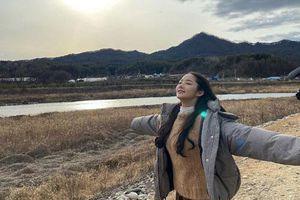 Park Min Young chúc mừng Tết Nguyên Đán nhưng mọi sự chú ý lại đổ dồn vào gương mặt tự nhiên của cô