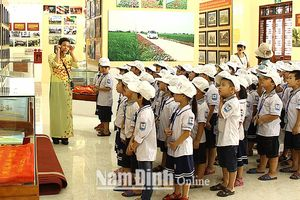 Nam Định: Hải Hậu khai thác, phát huy hiệu quả hệ thống bảo tàng, nhà lưu niệm
