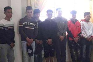 Đắk LắK: Bắt nhóm thanh niên đốt pháo, đánh trọng thương thiếu tá công an