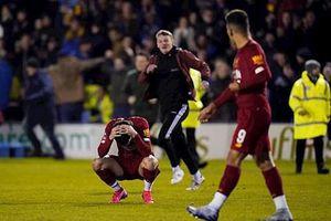 Bất ngờ bị đội hạng Ba cầm chân, Liverppol phải đá lại vòng 4 FA Cup