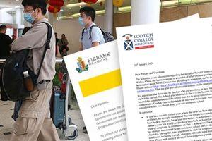 Trường tư ở Australia yêu cầu sinh viên vừa đến Trung Quốc không đến trường
