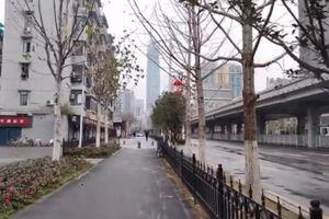 Vũ Hán trở thành 'thị trấn ma' kể từ đại dịch viêm phổi cấp